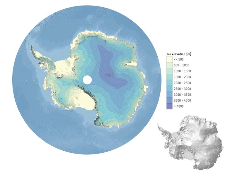 DEM Antártida CryoSat
